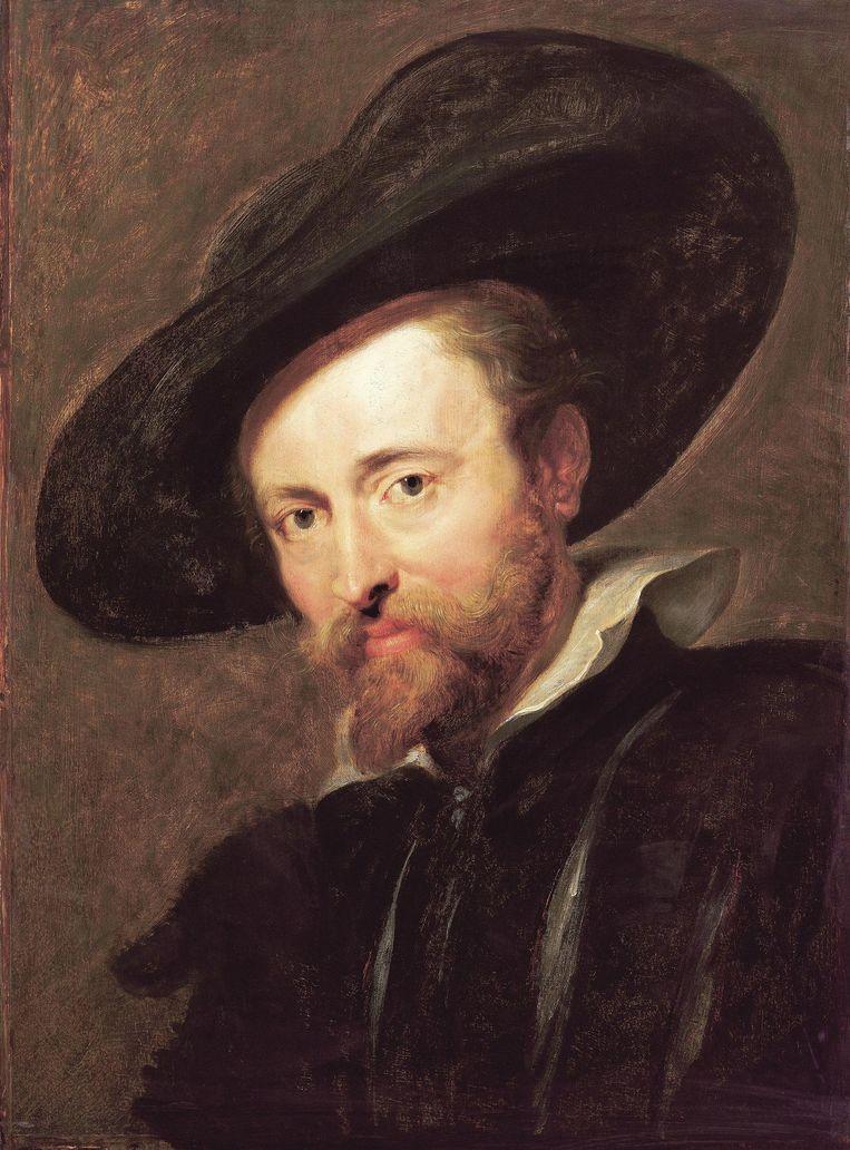 Het zelfportret van Peter Paul Rubens.