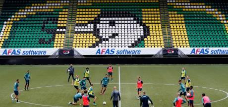 Foto's   Stadion ADO Den Haag wordt omgetoverd tot AZ-stadion
