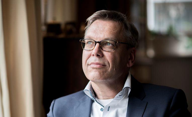 Theoloog Bernhard Reitsma schreef het boek 'Kwetsbare liefde: de kerk, de islam en de drie-enige God'. Beeld Bram Petraeus