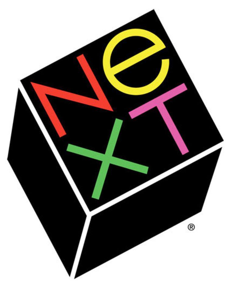 Het logo van NeXT. Beeld Paul Rand
