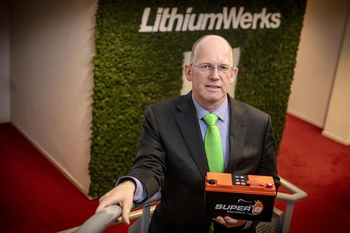 Kees Koolen is sinds vrijdag ceo af bij Lithium Werks.
