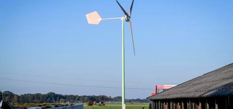 Hardenberg versoepelt regels voor kleine windturbines: tip kan 33 meter hoog