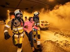 Ongeval, slachtoffers én Russische ambassadrice tijdens grootste oefening ooit in Leidsche Rijntunnel