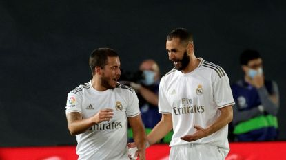 """Zidane stelt gerust en hint naar selectie Hazard: """"Er is geen terugval, Eden zou er morgen opnieuw bij moeten zijn"""""""