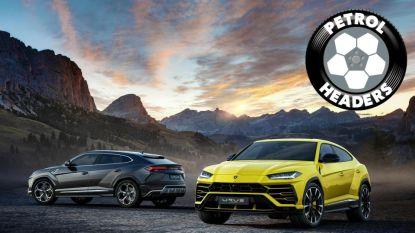 De wagen waarmee alle topvoetballers straks willen rondrijden: de Lamborghini Urus