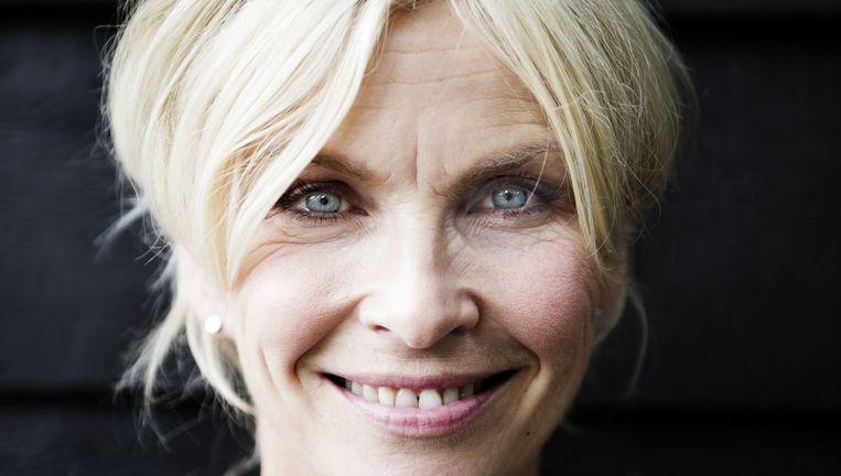 Anita Witzier: `Ik neem het verdriet niet mee naar huis. Het geeft me juist veel vreugde en voldoening.' Beeld Ernst Coppejans