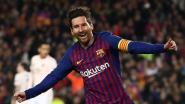 Barcelona dolt met United, weergaloze Messi dirigeert Catalanen naar halve finale