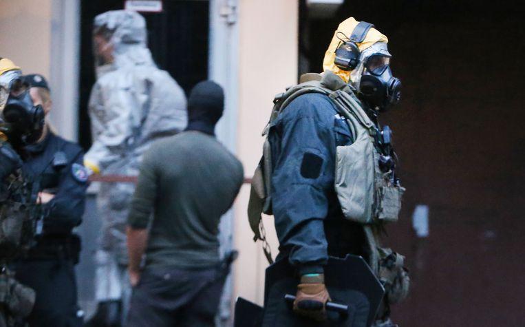 Speciale eenheden vonden het dodelijke gif ricine in het appartement