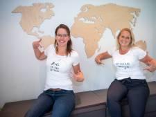 Reisagentes uit Hardenberg starten t-shirtactie om reisbranche te steunen: 'Bali er ook zo van?'
