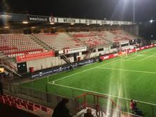 Supporters laten uit protest tribune leeg bij wedstrijd FC Oss-Fortuna