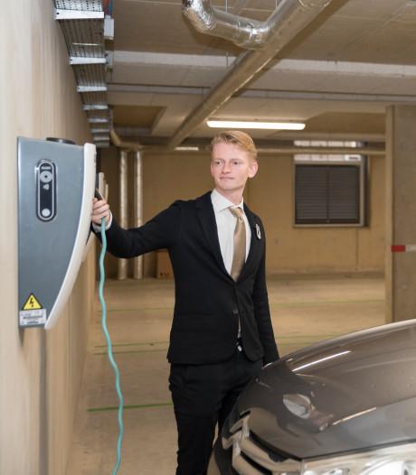 Zierikzees Hotel Mondragon is zich bewust van risico met elektrische auto's in parkeerkelder