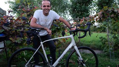 Kim Creve fietst 685 kilometer voor goede doel