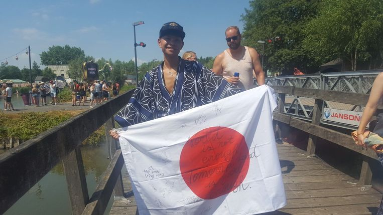 Yas uit Japan.