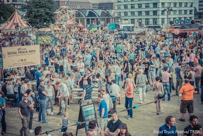 Festival TREK in het Paleiskwartier