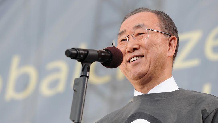 Ban Ki-Moon. Beeld getty
