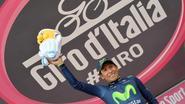 Quintana pleegt coup in de Giro: ritzege en roze trui