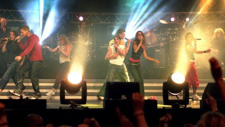 Concert K-otic in 2001 Beeld anp