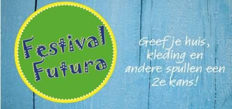 Tweede editie Festival Futura gaat over hergebruik