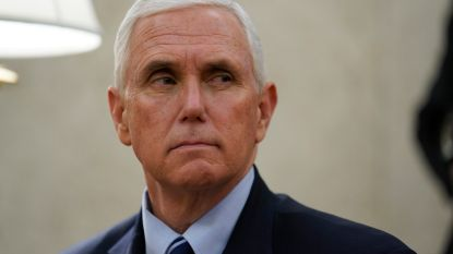 """Woordvoerder Pence: """"Vicepresident niet in thuisisolatie"""""""
