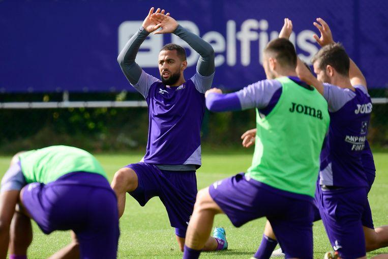 Kemar Roofe traint mee bij Anderlecht.