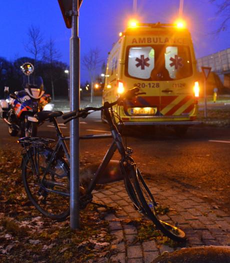 Fietser gewond na aanrijding in Breda