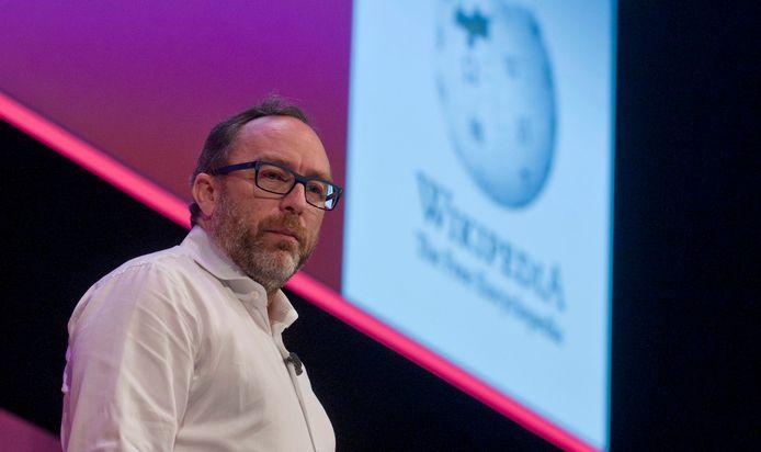 Jimmy Wales, oprichter van Wikipedia
