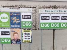 D66 Eersel té dominant op verkiezingsbord in Knegsel: andere partijen not amused