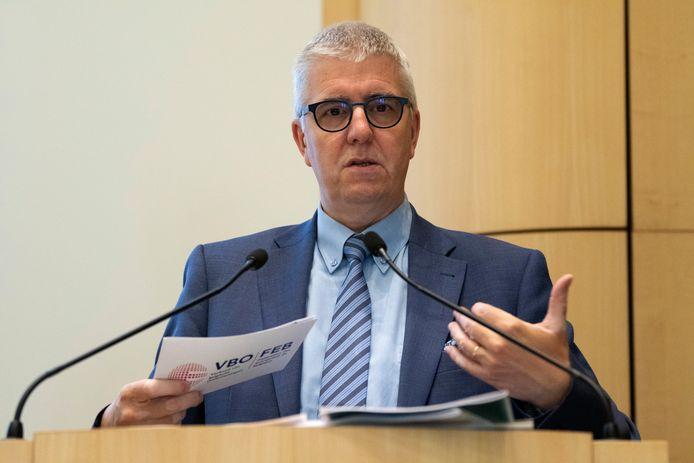 Pieter Timmermans, administrateur délégué de la Fédération des entreprises belges (FEB)