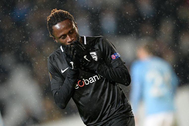 Dieumerci Ndongala in het shirt van Genk.
