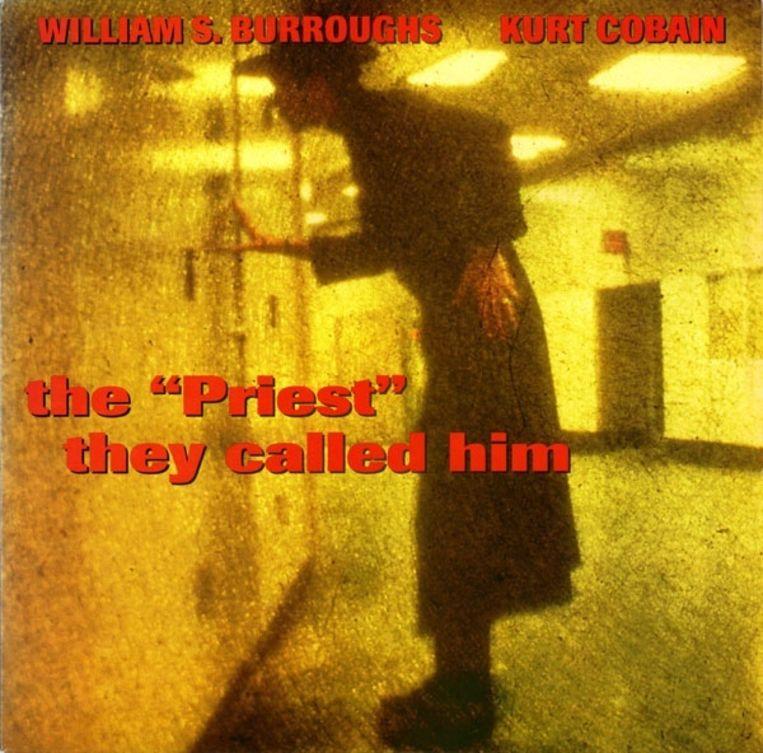 3. William Burroughs en Kurt Cobain: The Priest They Called Him. Ontwerp Steve Connell. Beeld .