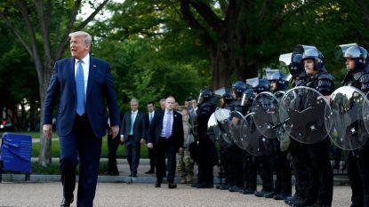Trump dreigt leger in te zetten tegen relschoppers