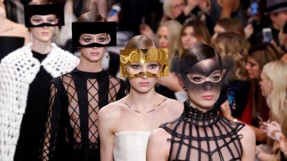 Gespot op de coutureshow van Dior: wanneer make-up kunst wordt
