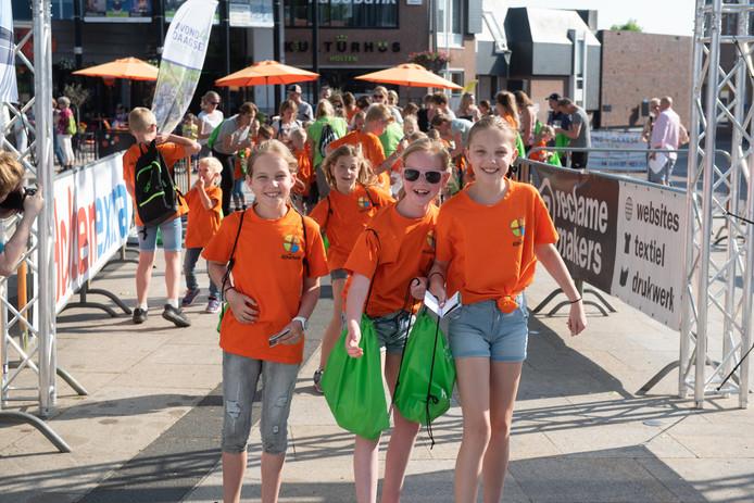 Eindelijk het is weer zover, de start van de vierde editie van de Holtense wandelvierdaagse.