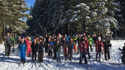 Sneeuwpret in de Hoge Venen voor VBS Ruien