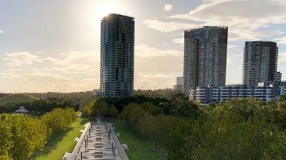 """Gloednieuwe woontoren van 33 verdiepingen geëvacueerd na """"krakende geluiden"""" in Sydney"""
