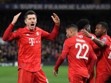 Gnabry et Lewandowski ont encore frappé, le Bayern a un pied en quarts de finale