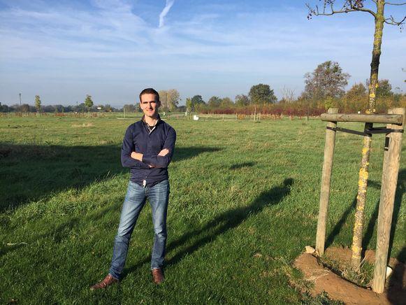 Joris Gaens zal over twee jaar burgemeester Huub Boers vervangen.