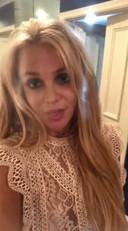 Britney Spears spreekt haar fans toe in een filmpje op Instagram