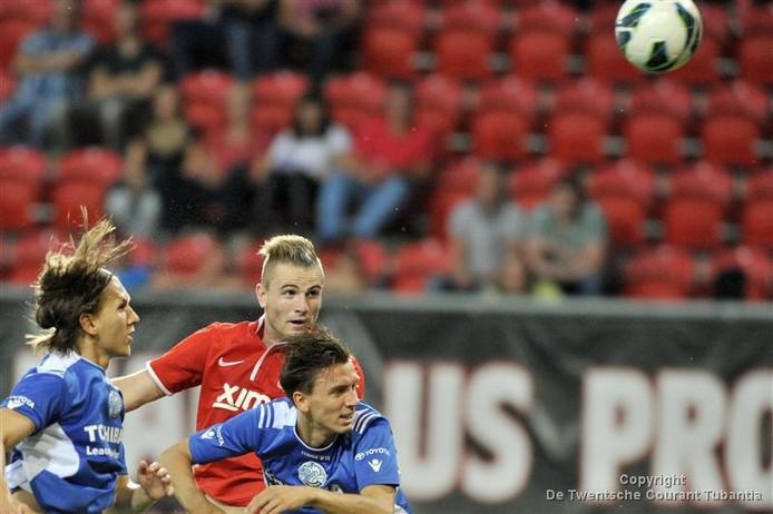 Cas Peters, hier nog in actie voor FC Twente.
