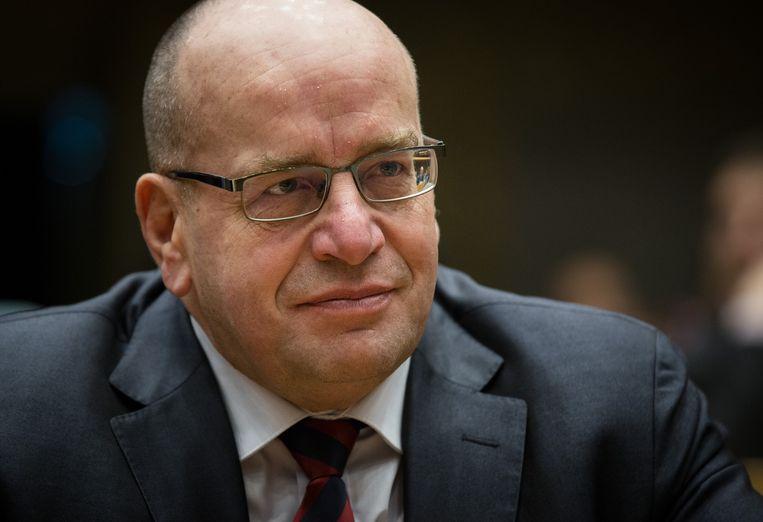 Oud-staatssecretaris van justitie en Kamerlid voor de VVD, Fred Teeven. Beeld anp