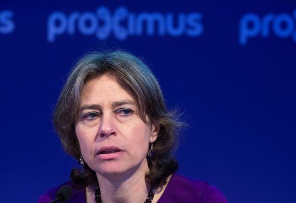 Voormalig Proximus-CEO Dominique Leroy.