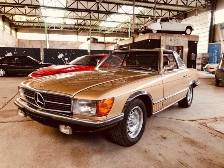 MERCEDES-BENZ 350SL uit 1971