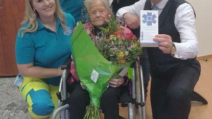 Bertha (95) ontmoet Bart De Wever