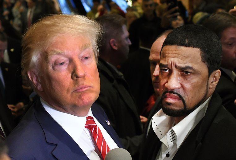 Donald Trump en Darrell Scott