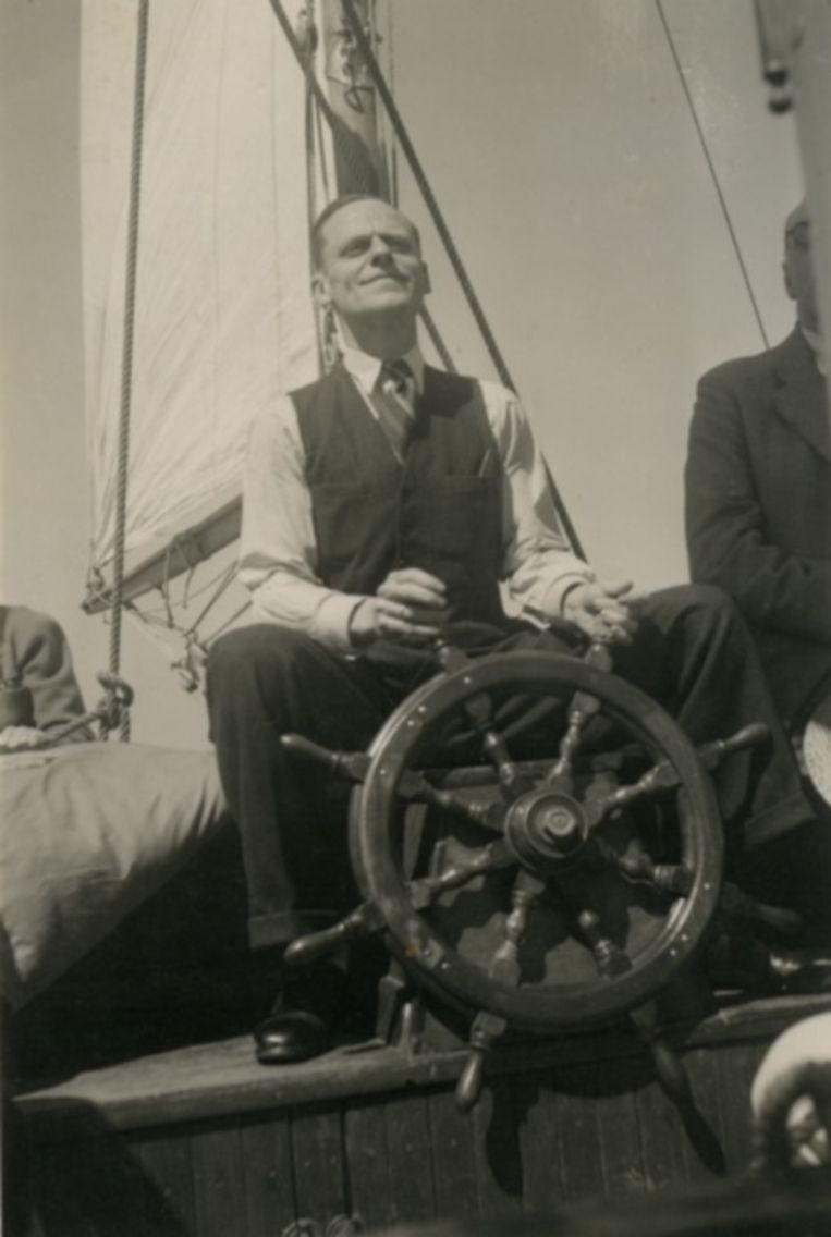 Willem Visser 't Hooft in de jaren dertig. Beeld