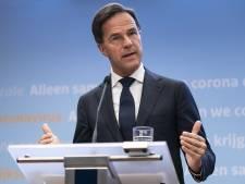 Rutte: 'Twee weken lockdown met avondklok in regio Dordrecht niet uitgesloten'