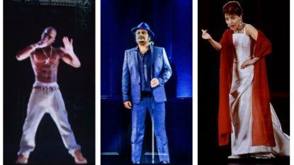 Steeds meer hologrammen op het podium: toekomst van de muziekindustrie brengt bitterzoet gevoel met zich mee