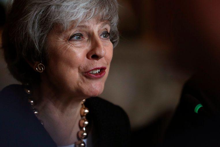 Brits premier May schreef een kerstboodschap in de krant Daily Express.