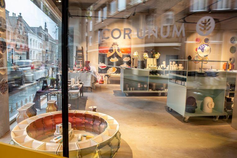 De winkel van Cor Unum in Den Bosch. Beeld Maikel Samuels