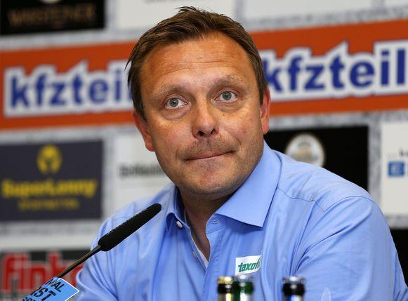 André Breitenreiter, de nieuwe hoofdcoach van Paderborn.